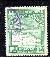 CI1265B - VENEZUELA 1932, Posta Aerea Yvert  N. 28  Usata . - Venezuela