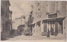 07 Les Vans Tramway Rue Du Temple - Les Vans