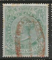 South Africa, CoGH, Revenue, VR, 1873, 2'6 Crown CC Wmk Perf 15.5 X 15, Used - South Africa (...-1961)