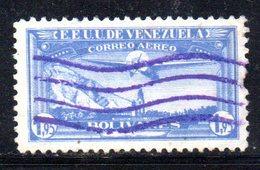 CI1292 - VENEZUELA 1937, Posta Aerea Yvert  N. 57  Usata . - Venezuela