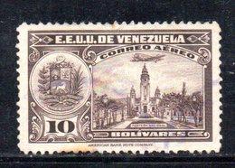 CI1294 - VENEZUELA 1938, Posta Aerea Yvert  N. 95  Usata . - Venezuela