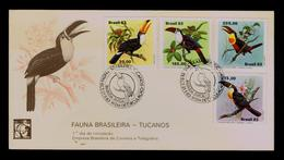 Birds Oiseaux BRAZIL TEMBAL'83 Basileia Suisse Animals Faune Gc3968 - Cuckoos & Turacos