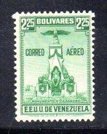 CI1297 - VENEZUELA 1938, Posta Aerea Yvert  N. 130  ***  MNH - Venezuela