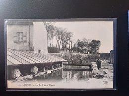 CPA.(60) SENLIS. Les Bords De La Nonette. Lavoirs. Lavandière (G.131) - Senlis