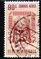 CI1301 - VENEZUELA 1952, Posta Aerea Yvert  N. 408  Usato . LARA - Venezuela