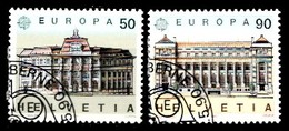 Suisse 1990 Mi.Nr: 1415-1416 Europa  Oblitèré / Used / Gebruikt - Gebruikt