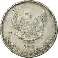 Monnaie, Indonésie, 500 Rupiah, 2003, Perum Peruri, TB+, Aluminium, KM:67 - Indonésie