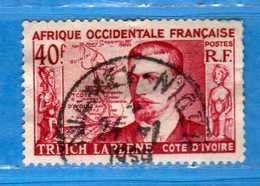 (Us3)  Afrique Occidentale Française, AOF -1952 - Yvert.47 . Oblitéré .  Vedi Descrizione - A.O.F. (1934-1959)