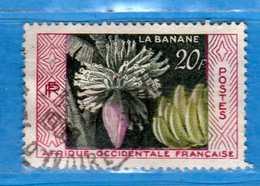 (Us3)  Afrique Occidentale Française, AOF -1958 - Yvert.67 . Oblitéré .  Vedi Descrizione - A.O.F. (1934-1959)