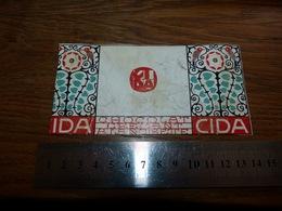 BC1-2-0 LV10 Image D Ancien Emballage Chocolat Cida Bois D'Haine Manage 14x7cm - Publicités