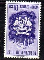 CI1312 - VENEZUELA 1953, Posta Aerea Yvert  N. 491  ***  MNH. PORTUGUESA - Venezuela