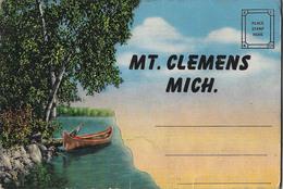 A Voir- MT. CLEMENS By Krop-recueil 16 Vues - Etats-Unis