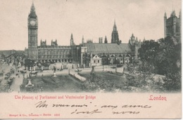 CPA Londres, Le Parlement - Houses Of Parliament