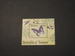 TANZANIA - 1994 FARFALLA - NUOVO(++) - Tanzania (1964-...)