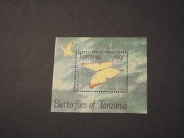 TANZANIA - 1993 FARFALLA - NUOVO(++) - Tanzania (1964-...)