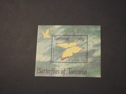 TANZANIA - 1993 FARFALLA - NUOVO(++) - Tansania (1964-...)