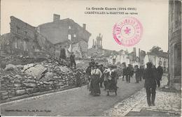Gerbèviller La Martyre En Ruines - Gerbeviller