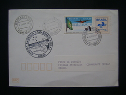 BRAZIL - ENVELOPE SUBMITTED BASED ON ANTARTIDA AND RELEASED ON 10/03/90 - Preserve The Polar Regions And Glaciers