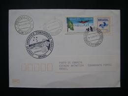 BRAZIL - ENVELOPE SUBMITTED BASED ON ANTARTIDA AND RELEASED ON 10/03/90 - Preservare Le Regioni Polari E Ghiacciai