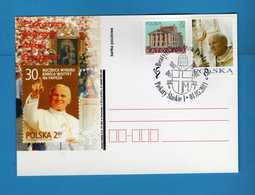 Polonia - Polska - Postcard °2011 - Giovanni Paolo II - PIEKARSCY 01-05-2011  Timbrata.  Vedi Descrizione. - Interi Postali