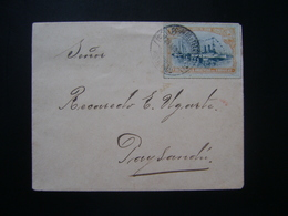 URUGUAY (SHIP) - LETTER CIRCULATED FOR PAYSANDU ON THE DATE OF THE SEAL, 25 / VIII / 19 ?? NO STATE - Schiffe