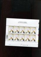 Belgie 2002 Nr 3063 DVDP Pen Volledig Vel Plaatnummer 1 Numéro De Planche - Hojas