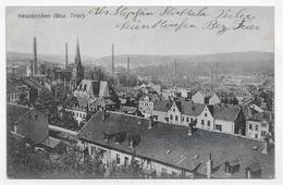 (RECTO / VERSO) NEUNKIRCHEN EN 1908 - BEAU CACHET ET TIMBRE - CPA VOYAGEE - Kreis Neunkirchen