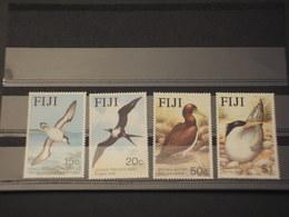 FIJI - 1985 UCCELLIII4 VALORI - NUOVI(++) - Fiji (1970-...)