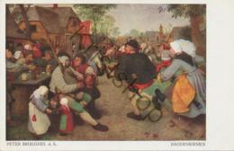 Peter Brueghel - Bauerkirmes - POSTKARTE  [2A-5.025 - Malerei & Gemälde