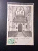 CPA.(80) BEAUVAL.  Intérieur De L'église. Les Orgues.  (G.172) - Beauval