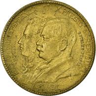 Monnaie, Brésil, 1000 Reis, 1922, TTB+, Aluminum-Bronze, KM:522.1 - Brésil