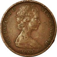 Monnaie, Nouvelle-Zélande, Elizabeth II, Cent, 1967, TTB, Bronze, KM:31.1 - Nouvelle-Zélande