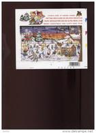 Belgie Blok Feuillet BL98 Xmas Noel 3101/10 PLAATNUMMER 1 2002  Onder Postprijs Sous Faciale !! - Blocs 1962-....