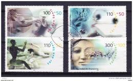 Duitsland 2000 Nr 1926/29 G, Zeer Mooi Lot Krt 3715 - Timbres