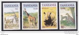 Tanzania Nr 285/288 **, Zeer Mooi Lot Krt 3720 - Collections (sans Albums)