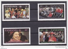 Tanzania Nr 317/320 **, Zeer Mooi Lot Krt 3724 - Timbres
