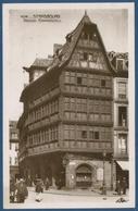 Straßburg Restaurant Maison Kammerzell, Gelaufen 1940 (AK2205) - Elsass