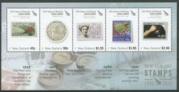 Neuseeland 2005 150 J. Briefmarken Neuseelands Block 186 Postfrisch (C25730) - Blocchi & Foglietti