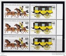 Duitsland 1985 Nr 1087/88 **, 3x, Zeer Mooi Lot Krt 3671 - Timbres