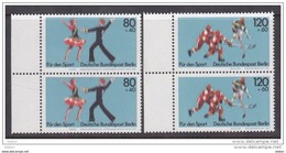 Duitsland Berlin 1983 Nr 659/60 ** Duo, Zeer Mooi Lot Krt 3679 - Collections (sans Albums)