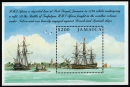 Jamaika 2005 - Mi-Nr. Block 57 ** - MNH - Schiffe / Ships - Jamaica (1962-...)