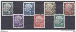 Duitsland 125a/128b *,  Krt 3729 - Collections (sans Albums)