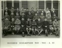"""4001 """"RICORDO SCOLASTICO 942-943-A. XX - LUOGO SCONOSCIUTO"""" FOTO ORIG. - Persone Anonimi"""