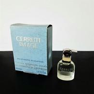 Miniatures De Parfum   CERRUTI IMAGE  De NINO CERRUTI    EDT Pour HOMME   5  ML  +  BOITE UN PEU CABOSSÉE - Modern Miniatures (from 1961)