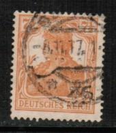GERMANY  Scott # 98 VF USED (Stamp Scan # 513) - Germany