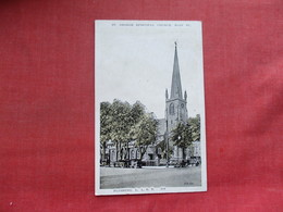 St George Episcopal Church Flushing New York > Long Island  Paper Residue On Back From Album   Ref 3390 - Long Island