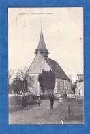CPA - TOURNEDOS BOIS HUBERT - L' Eglise - Enfant Du Village - Imprimerie Laruelle Evreux - Normandie - Frankrijk