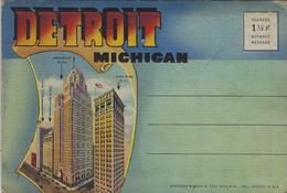A Voir-1944-DETROIT Recueil 18 Vues By Curt Teich - Detroit