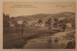 Cpa St Saint Cirgues En Montagne Les Bords Du Mazan Et L'entrée Du Bourg 1919 - TOR04 - Andere Gemeenten