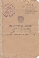 Identitätsausweis Klagenfurt 1950 - Viersprachig - Mit Stempel Der Russ. Behörden (41541) - Historische Dokumente